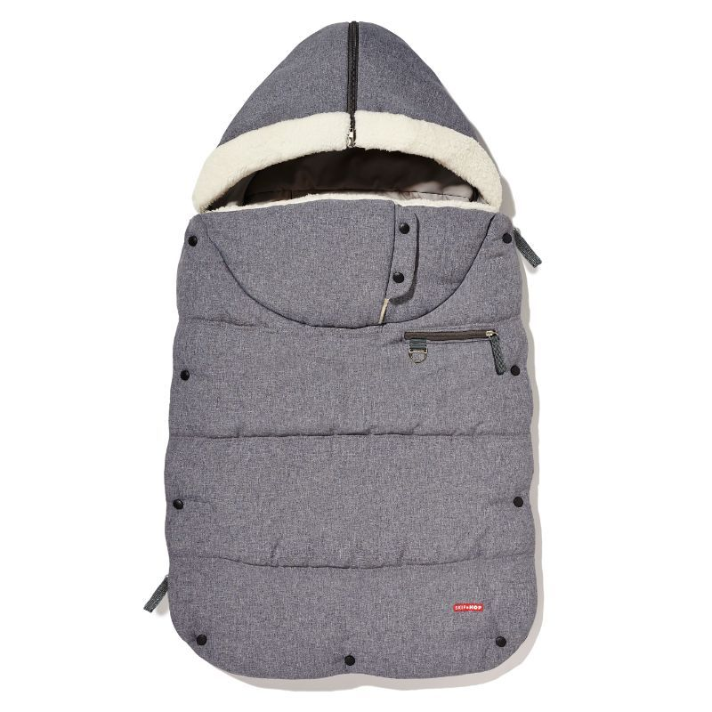 Kørepose fra Skip Hop - Three Season Footmuff - Heather Grey
