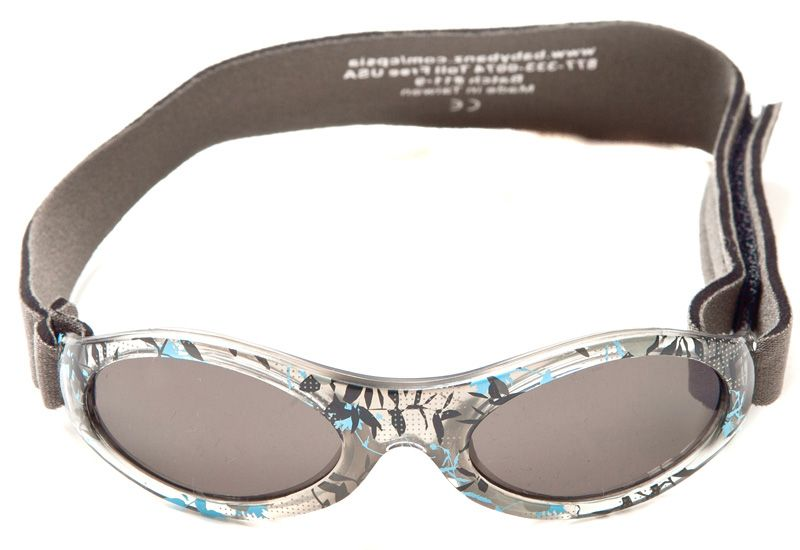 Image of   Solbrille - Baby Banz - Adventure - Grå Camo Blomst