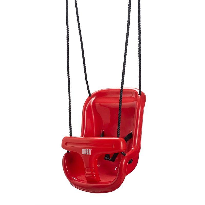 Gynge i plast fra KREA (6m+) - Rød