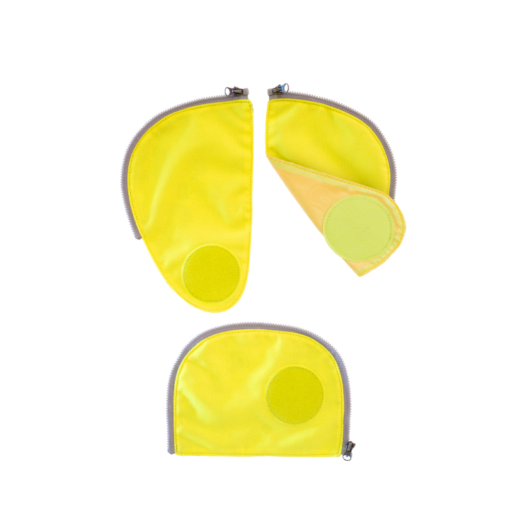 Ergobag – Safety set - reflekser til ergobag pack - gul fra babygear.dk