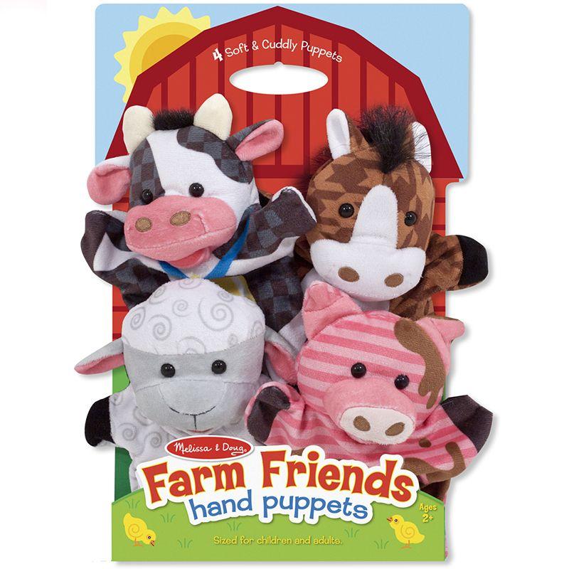 Billede af Hånddukker fra Melissa & Doug - Farm Friends