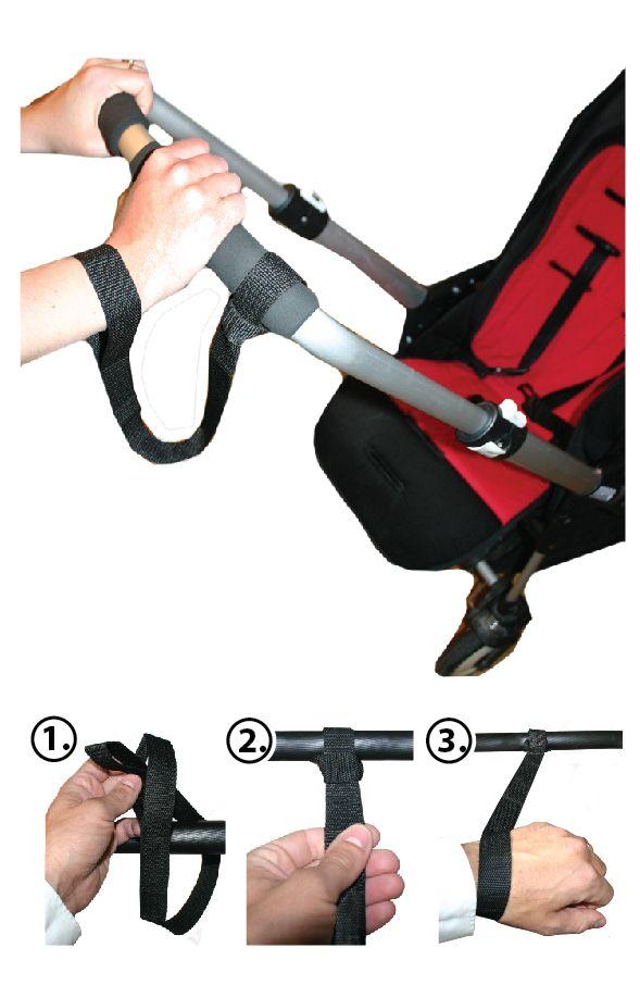 Image of Håndledsrem til barnevogn fra AddBaby (7350041191124)
