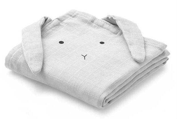 Image of   Stofble fra Liewood - Økologisk - Rabbit - Dumbo Grey (1 stk)