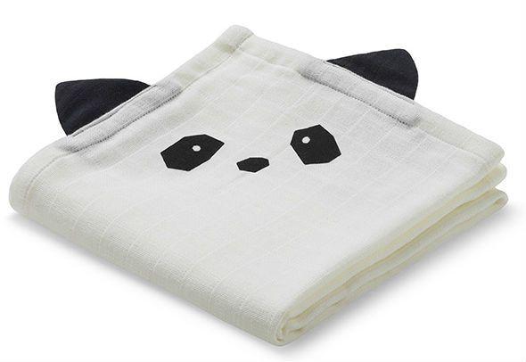 Image of   Stofble fra Liewood - Økologisk - Panda - Creme da la Creme (1 stk)