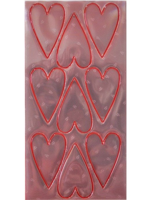 Image of Selvklæbende refleks - Red Hearts fra SeeME (586527)
