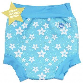 Image of   Blebadebukser fra Splash About - Classic - Blue Blossom