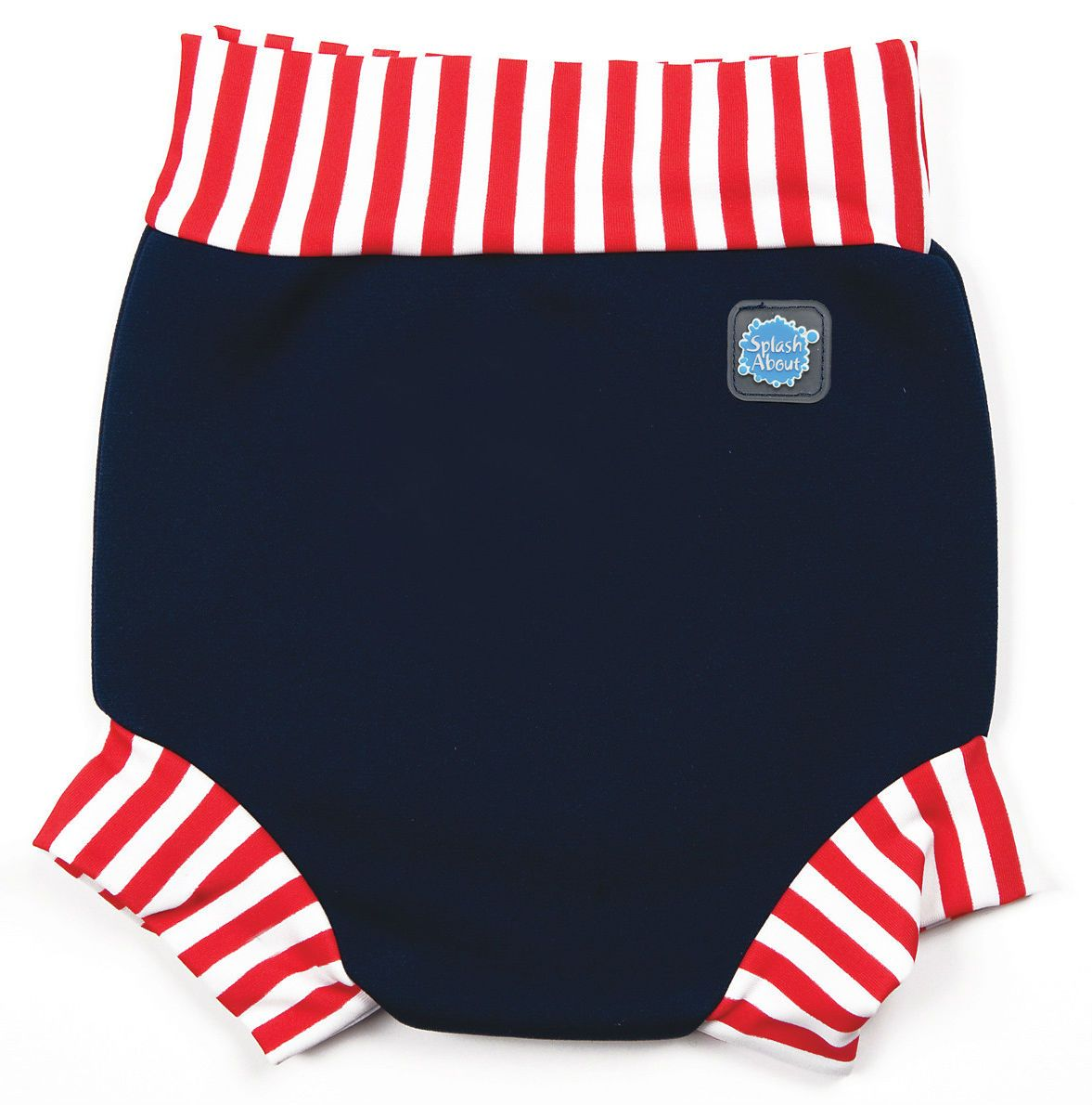 Image of   Blebadebukser fra Splash About - Classic - Navy/Red/White
