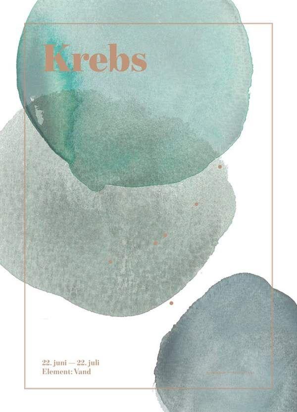 Image of Plakat fra SpecialDay - Stjernetegn - Krebs (Krebs)