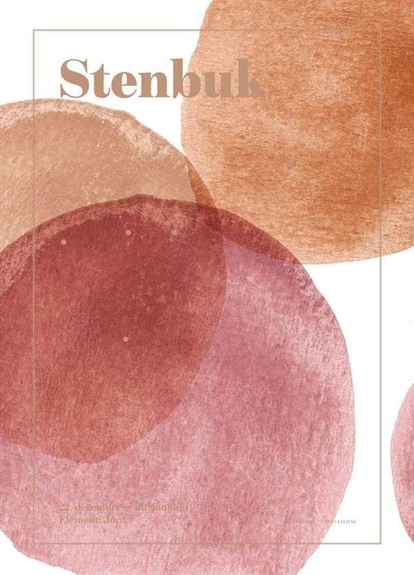 Image of Plakat fra SpecialDay - Stjernetegn - Stenbuk (Stenbuk)