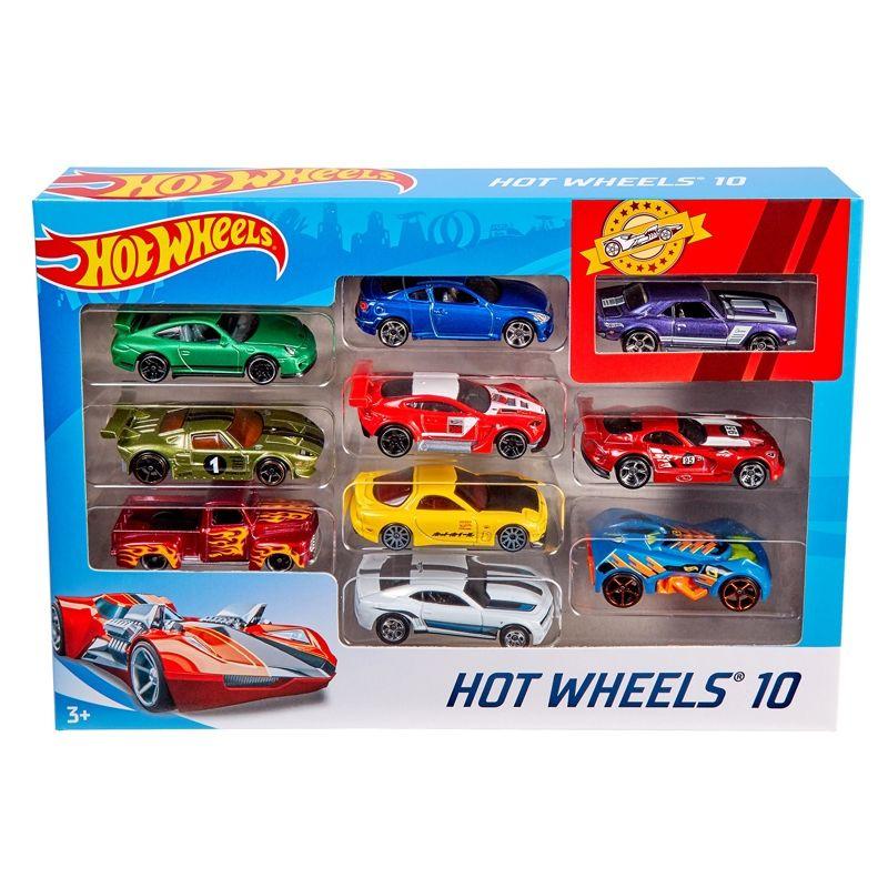 Image of Biler fra Hot Wheels - Car Giftpack (10 stk) (HWS-TOY20)
