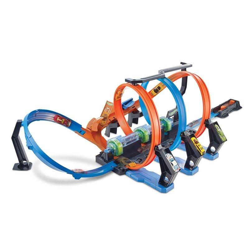 Image of   Corkscrew Crash Set fra Hot Wheels
