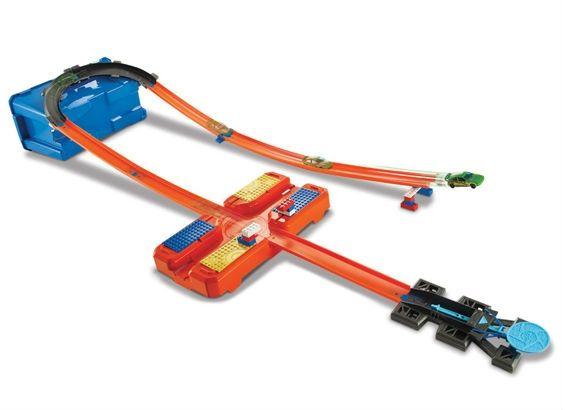 Image of Bil stunt sæt fra Hot Wheels - Track Builder Stunt Box (HWS-TOY11)