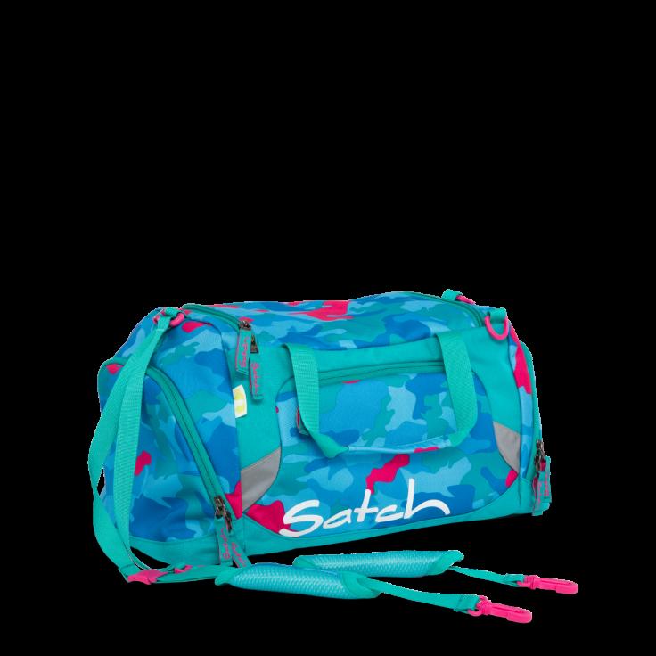 Satch – Sportstaske fra satch - duffle bag - caribic camou på babygear.dk