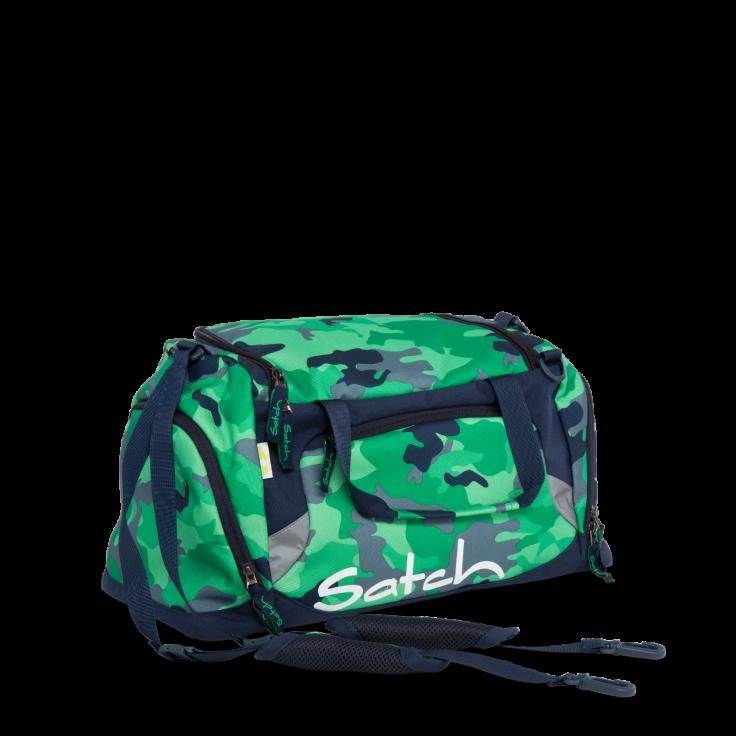 Satch Sportstaske fra satch - duffle bag - green camou på babygear.dk