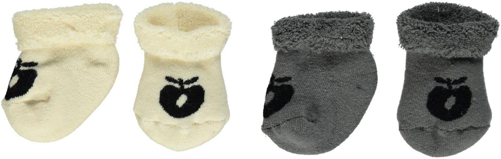 Image of   Baby frotte strømper fra Småfolk - Unisex (2-pak)