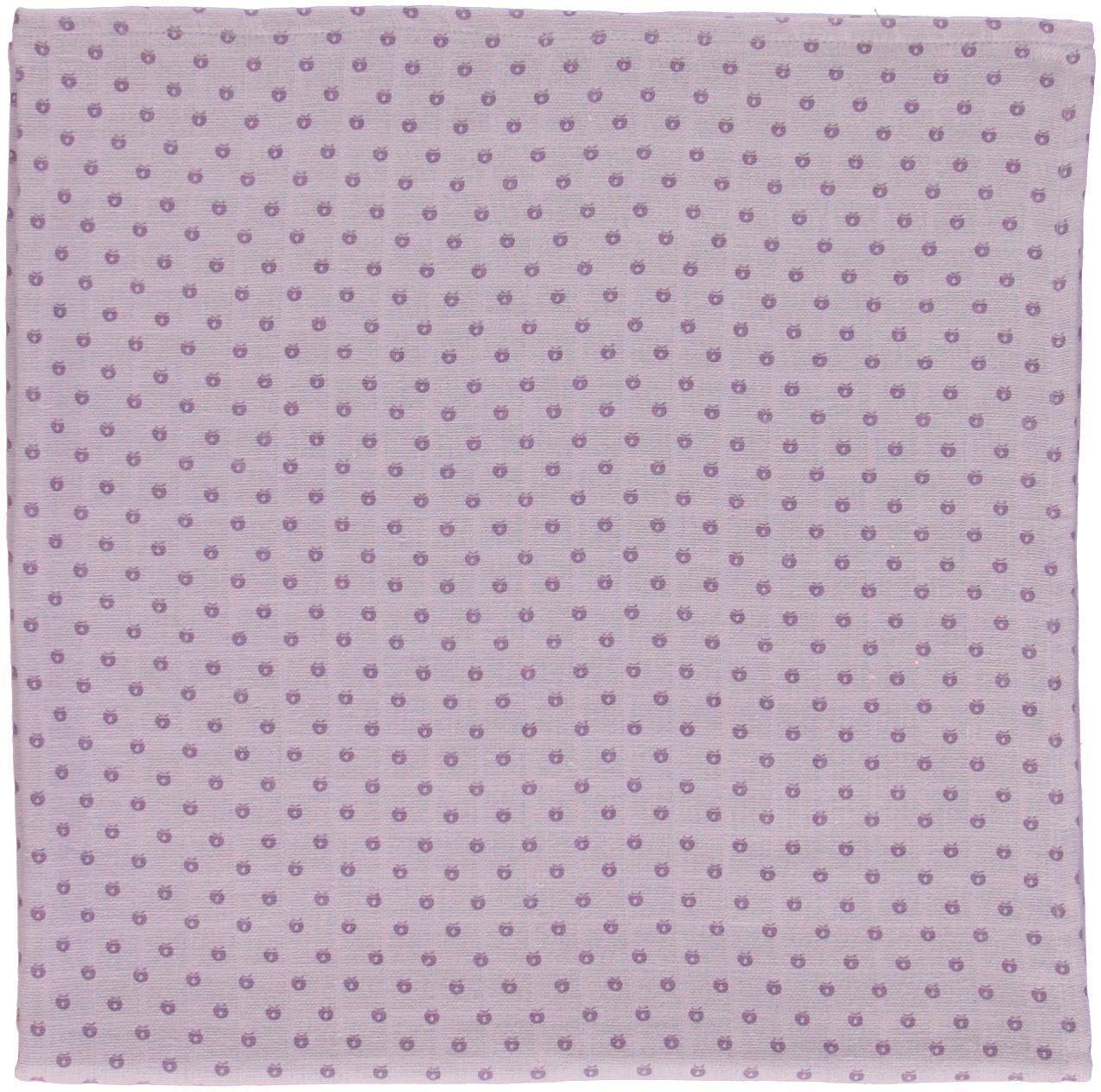 Stofble fra Småfolk GOTS - Micro Apples - Lavender
