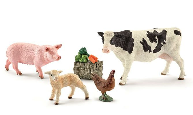Image of Bondegårdsdyr fra Schleich - My first farm animals (7 dele) (41424)