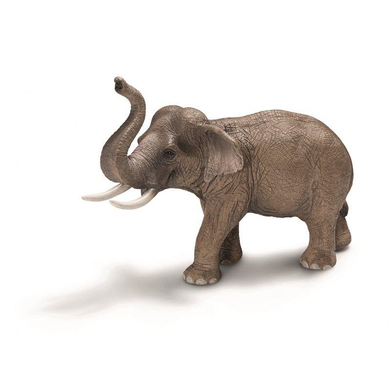 Image of   Asiatisk elefant fra Schleich