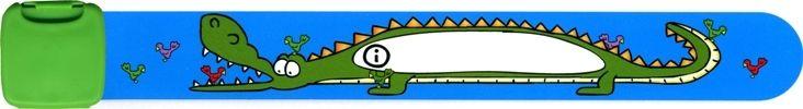Infoband – Navnearmbånd fra infoband - krokodille fra babygear.dk