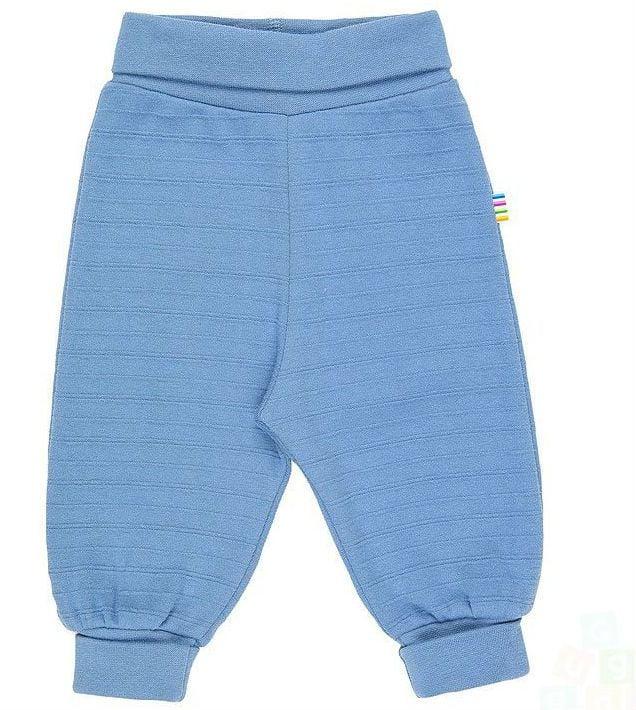 Sweat Pants m. struktur fra Joha - Dusty Blue