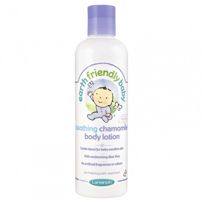 Image of Body lotion fra Earth Friendly Baby - Lavendel (250ml) (EFB-HYG03-LAV)