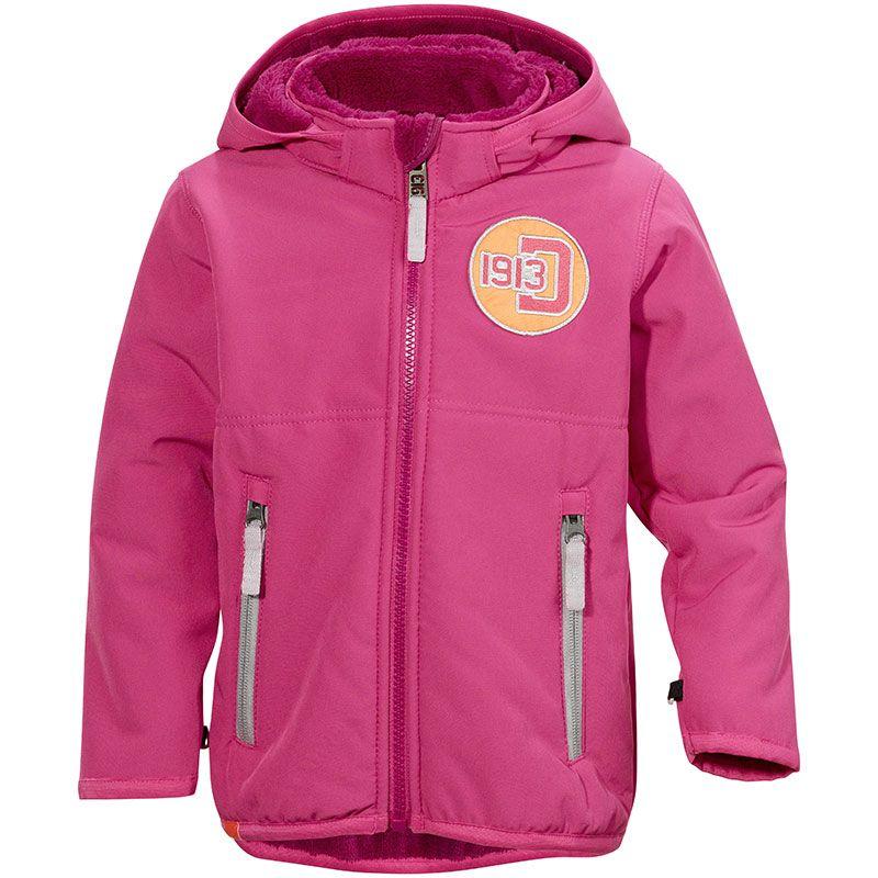 Billede af Softshell jakke m. teddyfleece fra Didriksons - Karpo - Pink