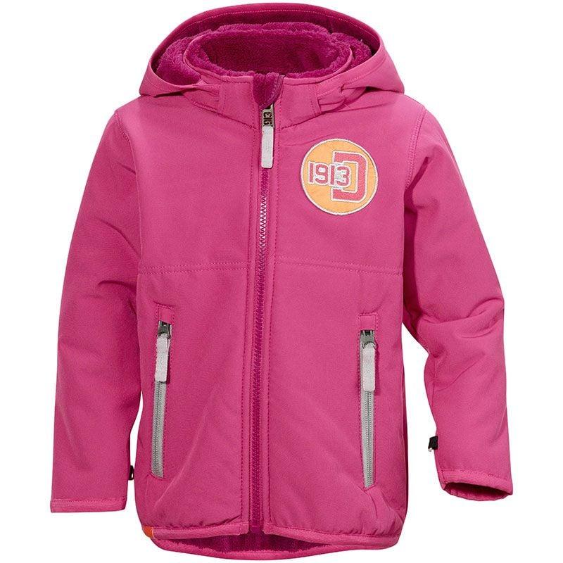 Image of Softshell jakke m. teddyfleece fra Didriksons - Karpo - Pink (500016-070-)