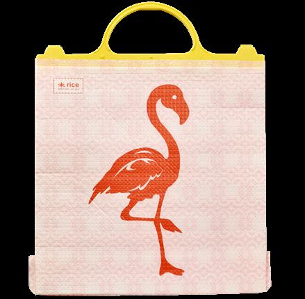 Image of Køletaske fra Rice - Thermo Plastic Bag - Flamingo (KIBAG-FLAM)