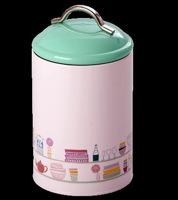 Image of   Kitchen Jar i emalje fra Rice - Charlottes Cupboard Print