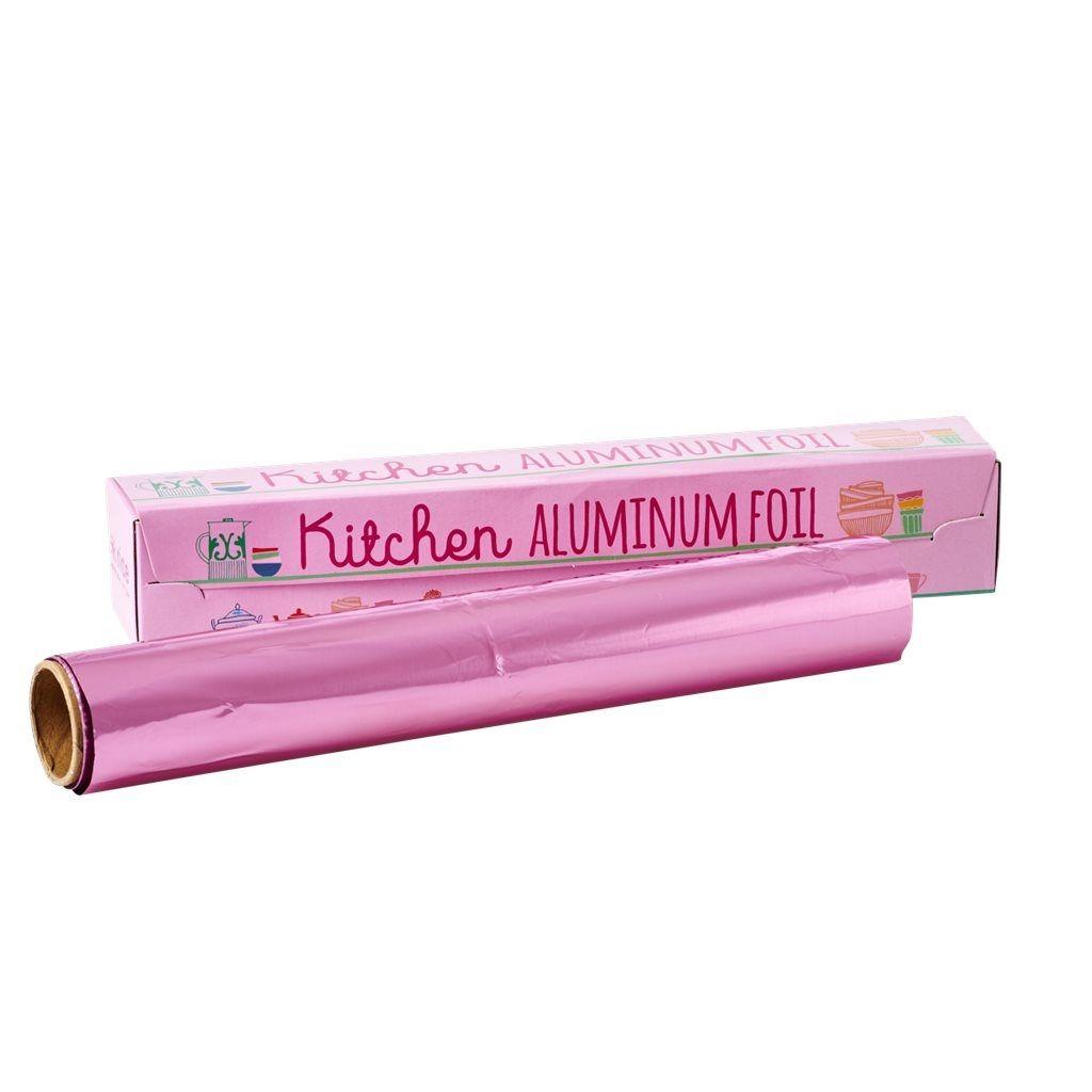 Image of   Alu folie fra RICE - Pink (10 meter)