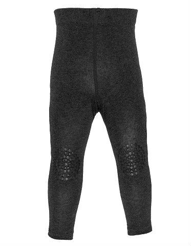 Image of   GoBabyGo kravleleggings (Oeko-tex) - Dark Gray Melange