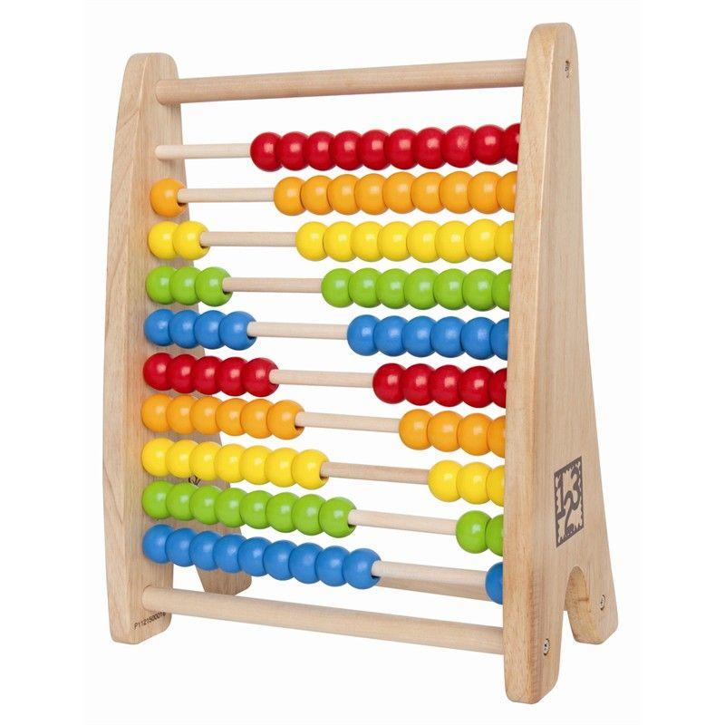 Kugleramme - Rainbow Bead Abacus - fra Hape
