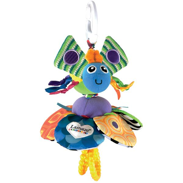 Image of Vibrerende rangle fra Lamaze - Flutterbug (BD_LAM-TOY34)