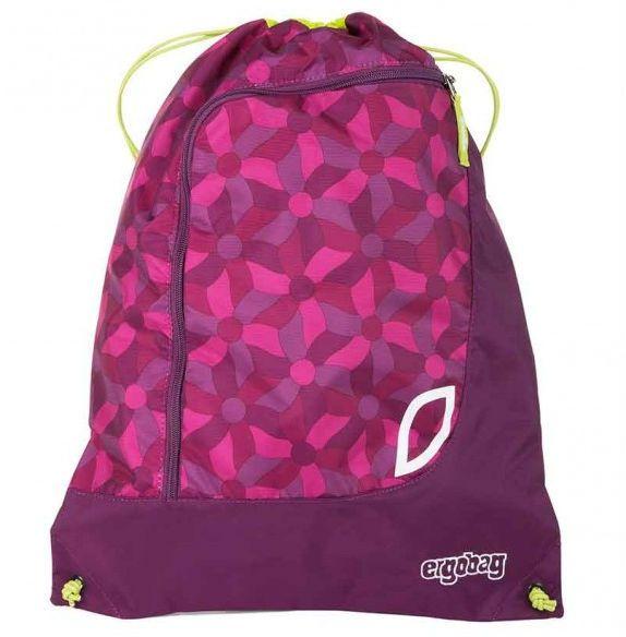 Image of Gym bag til Ergobag Prime - Flower Wheel Purple (eba-spo-001-9e3)