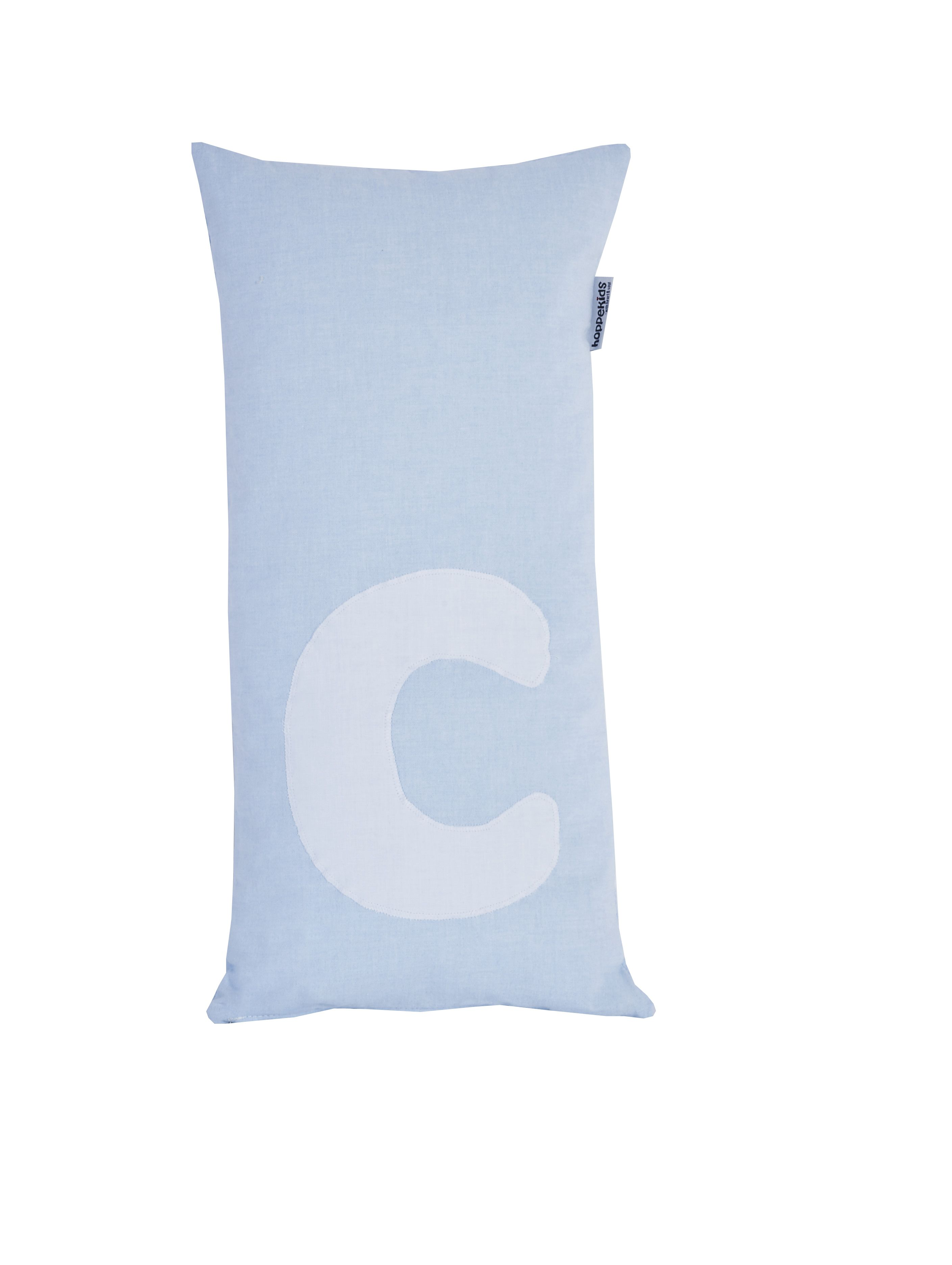 Pude Alphabet c lyseblå fra Hoppekids