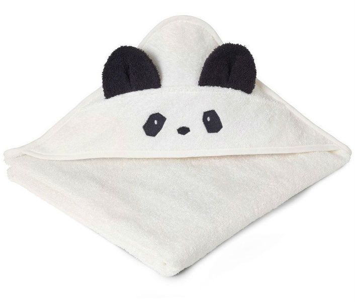 Image of Badeslag fra Liewood - Augusta - Panda Cream (100x100) (LW5000)