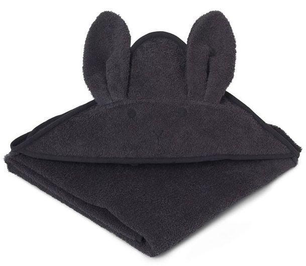 Billede af Badeslag fra Liewood - Augusta - Rabbit Dark Grey (100x100)