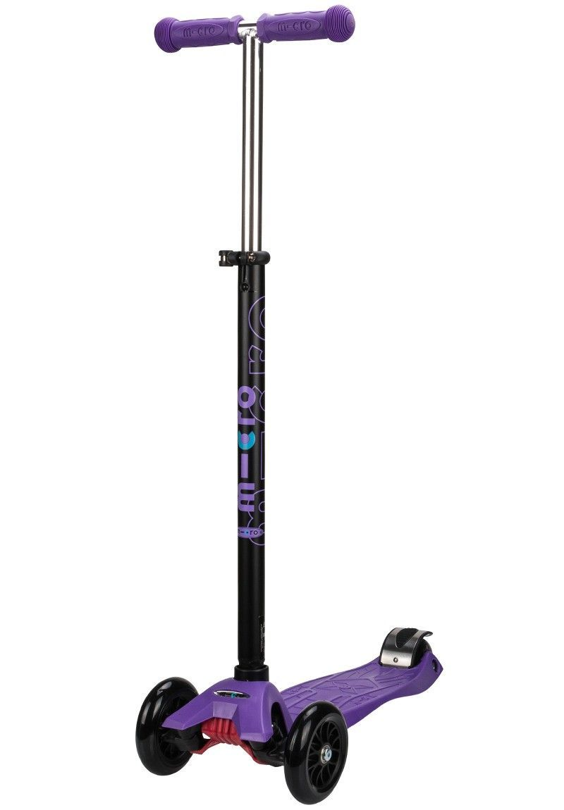 Image of Løbehjul - Maxi Micro - Purple Black T-Bar (100-MM0019)