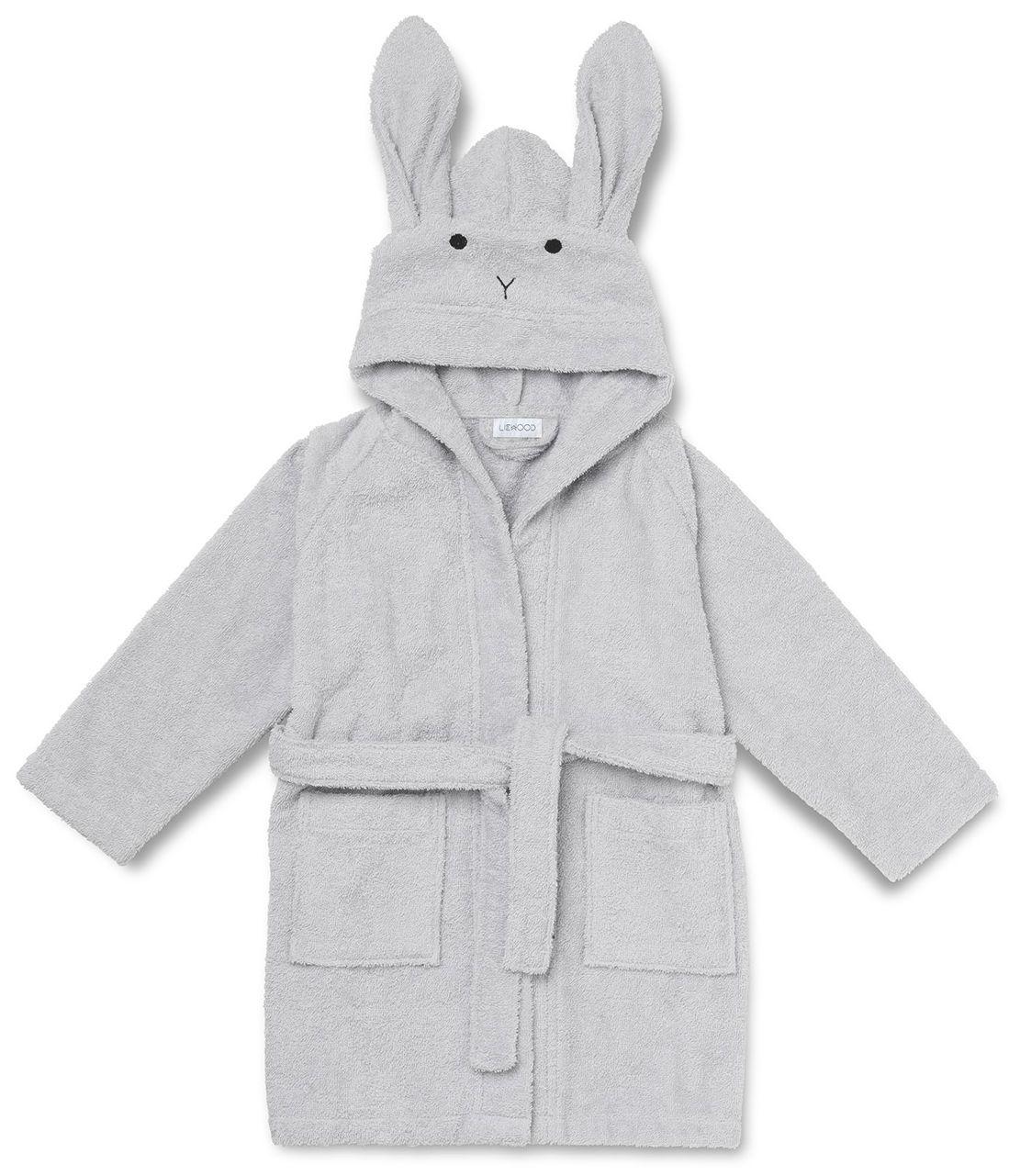 Billede af Badekåbe fra Liewood - Rabbit - Dumbo Grey