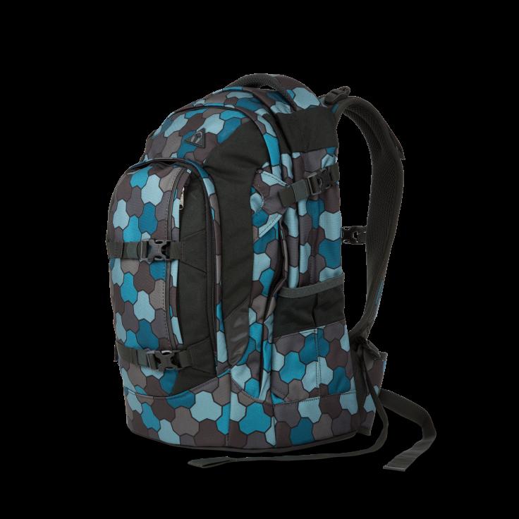 Skoletaske rygsæk - satch pack - ocean flow (30l) fra Satch på babygear.dk