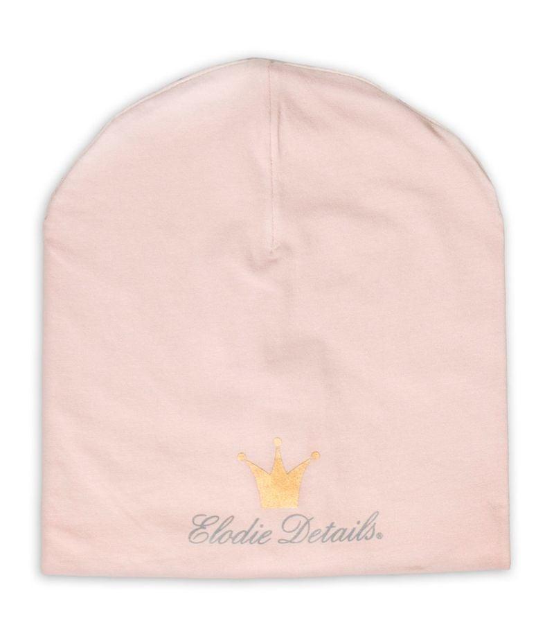 Logo beanie fra Elodie Details - Powder Pink