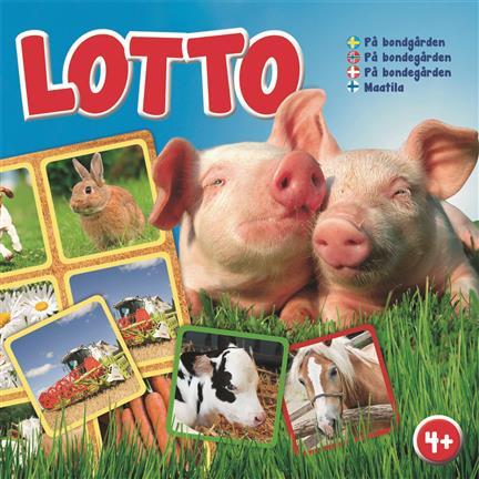 Lotto - på bondegården (4+) fra N/A fra babygear.dk
