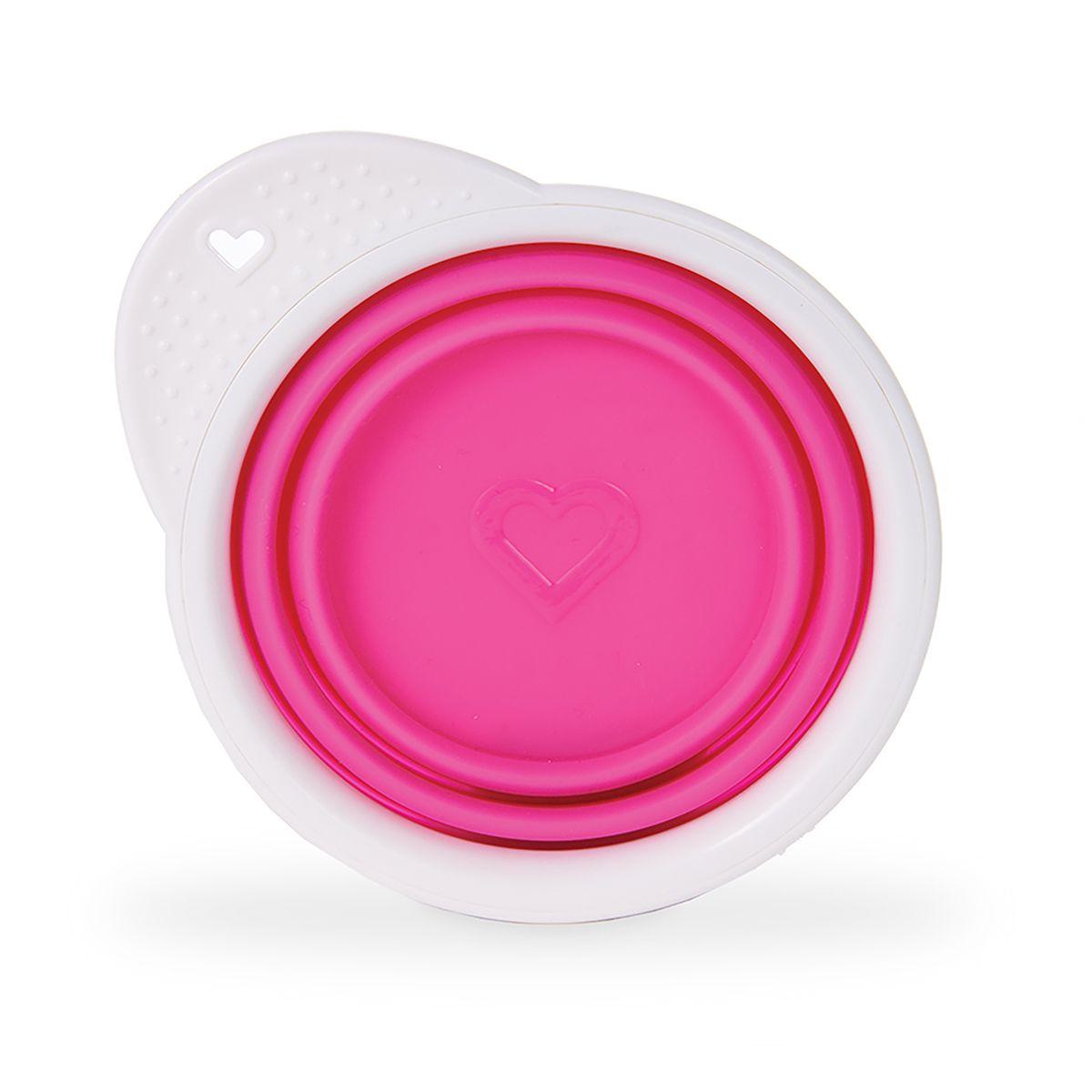 Billede af Skål fra Munchkin - Foldbar - Go Bowl - Pink