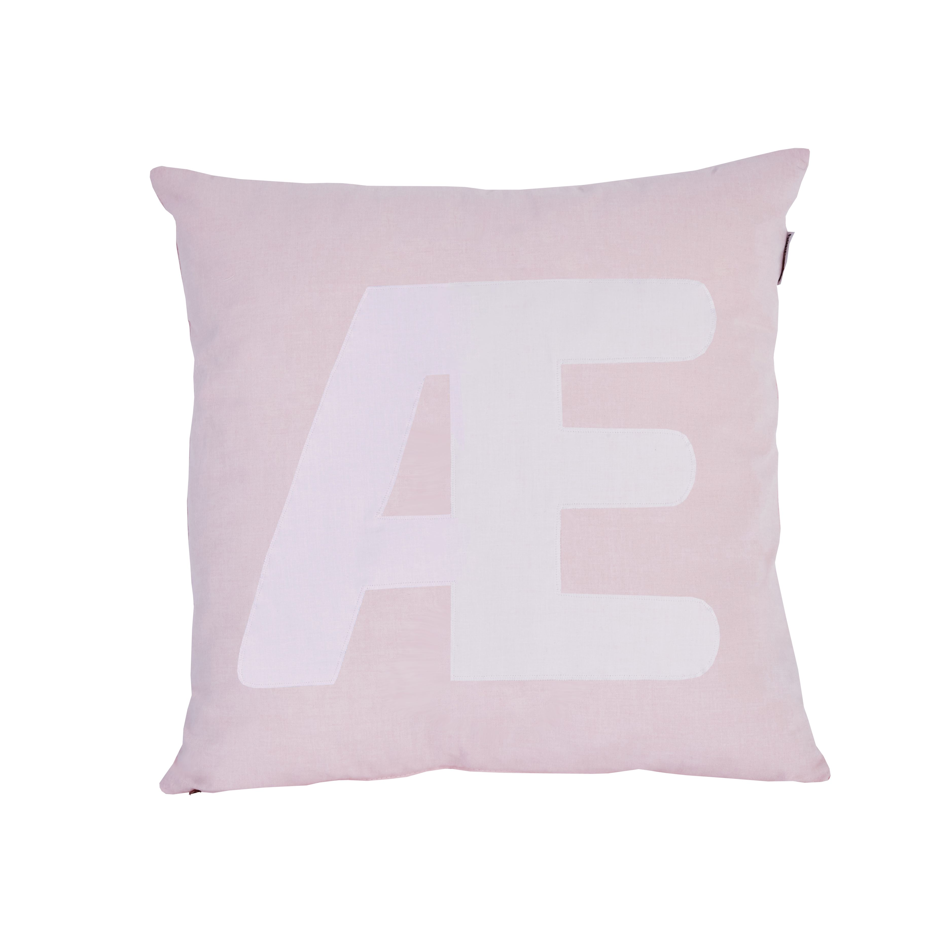 Pude Alphabet Æ lyserød fra Hoppekids