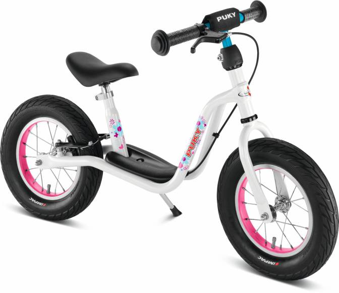 Løbecykel fra PUKY - LR XL - Håndbremse - Hvid