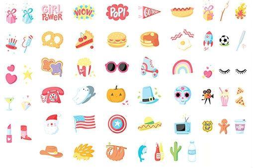 Image of   Symboler til Little Lovely Company Lightbox - American Dreams