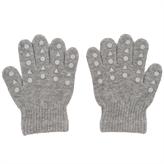 Image of Grip Gloves fingervanter fra GoBabyGo - Grey Melange (GBGGGG)