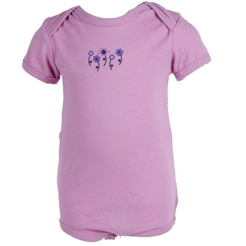 Body fra Pippi - korte ærmer - baby pink (Økotex 100)
