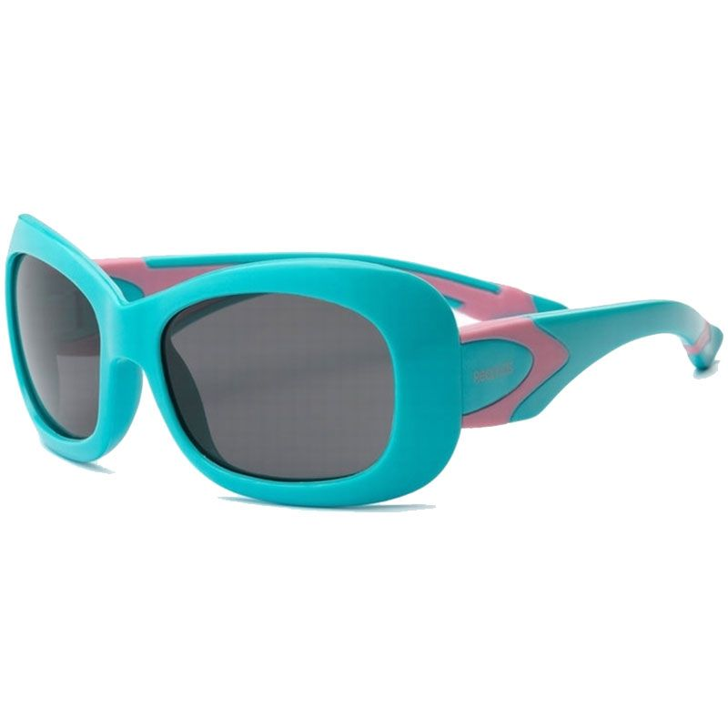 Real kids shades – Solbrille m. flex fit fra rks - breeze - mint/pink (4+) fra babygear.dk