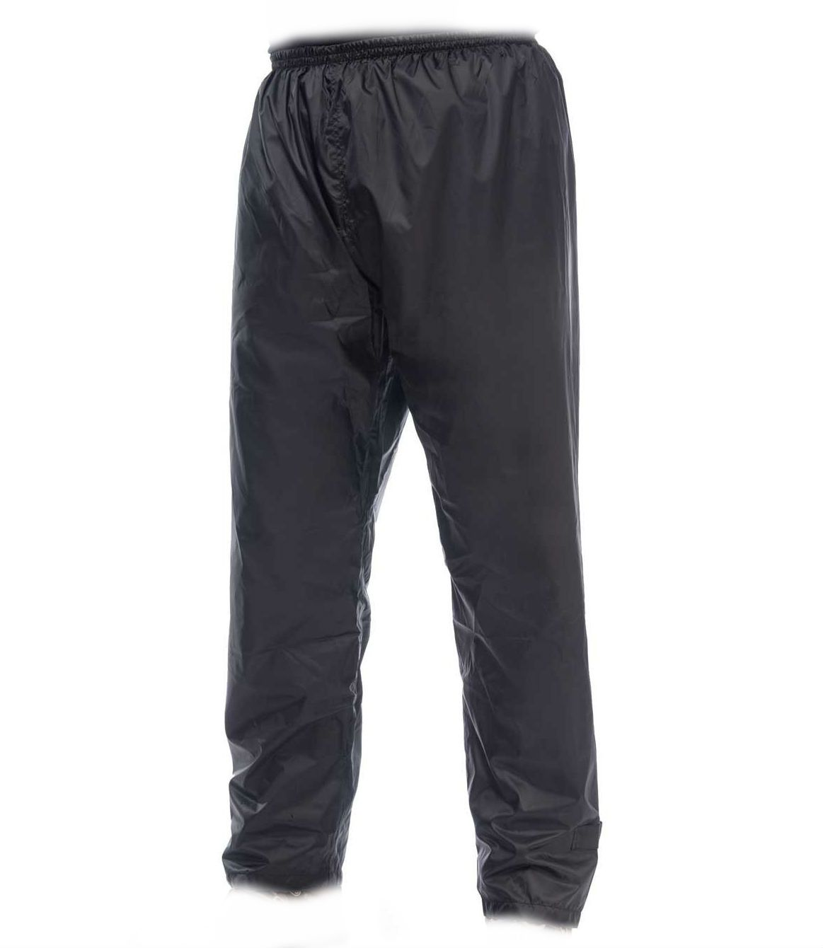Image of Regnbukser fra Mac-in-a-Sac - Mini Packaway Trousers - Jet Black (95190220-black)
